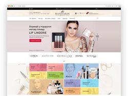 Интернет-магазин для компании Mandarin Beauty