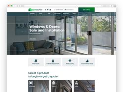 Корпоративный сайт для компании EcoSolution