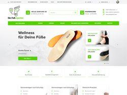 Дизайн интернет-магазина FussExperten