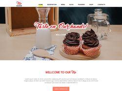 TOP - food & drink - Лендинг