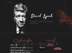 Фан-сайт Дэвида Линча.