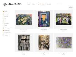 Сайт для норвежской художницы