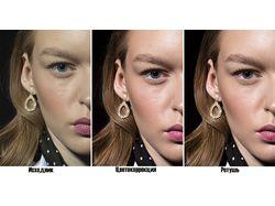 Цветокррекция и ретушь портрета