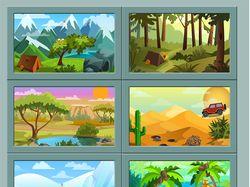 Иллюстрации дя игры
