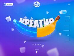 Дизайн студии веб-дизайна: Juicy-ART v4