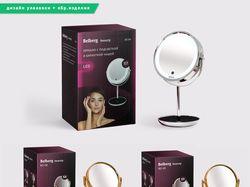 Дизайн упаковки для зеркала