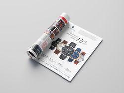 Реклама магазина часов «Анкер»