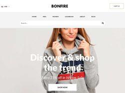 Landing интернет-магазина одежды