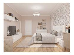 Дизайн спальни в элитном доме