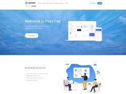 Сайт для компании Paystree