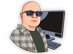 Стикер Пак: Программист