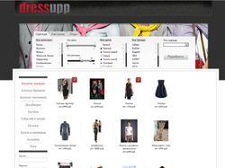 Система подбора одежды Dressme UP