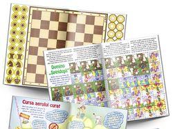 Настольные игры для детского журнала