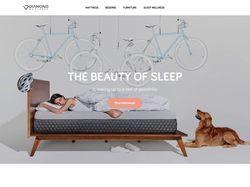 Дизайн интернет-магазина матрасов