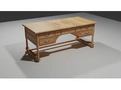 3d модель стола.
