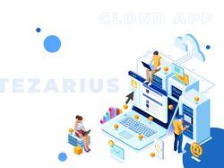 Landing Page Tezarius
