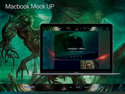 landing page Lovecraft
