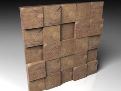 Деревянные 3D панели (3ds Max & Vray)