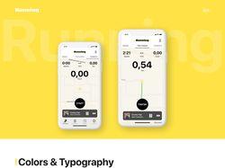 Мобильное приложение для бега