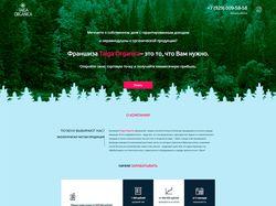 Taiga Landing Page