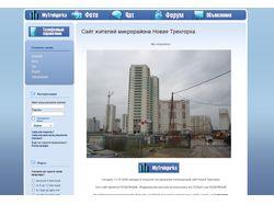 Сайт жителей микрорайона Новая Трехгорка