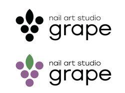 Айдентика студии маникюра Grape