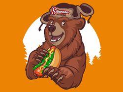 Логотип: Сибирский Hot Dog