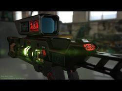 Набор SciFi ассетов и оружия для UnrealEngine