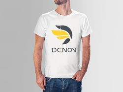 Логотип для бренда кастомной одежды Denov