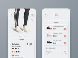 Sneacers shop app