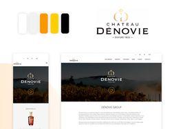 Сайт DenoviGroup - отлично подходит для презентаци