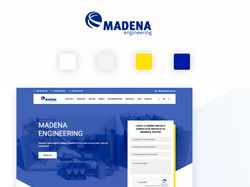 Madena - Корпоративный сайт