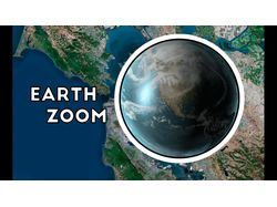 Earth Zoom animation
