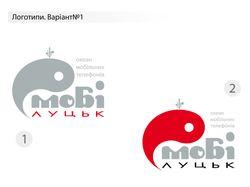 """Логотипы для интернет-магазина """"Моби Луцк"""""""
