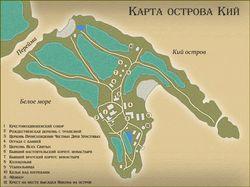 Старинная карта.