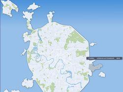 Интерактивная карта Москвы.