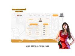 Дизайн сайта для игровых серверов в GTA:SAMP