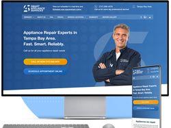 CMS Wordpress Сайт по оказанию ремонт услуг (США)