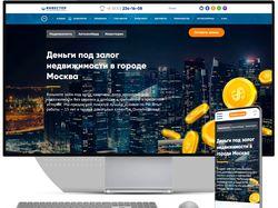 WordPress Сайт финансово-инвестиционной площадки