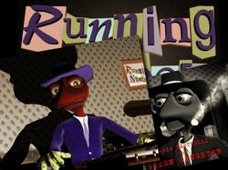 3D Мультфильм Running Numbers