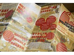 Рекламная продукция компании Soviet Wonders +карта