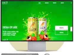 HTML-верстка Реклама напитка (Португалия)