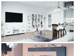 Мебельные композиции для гостиной комнаты.
