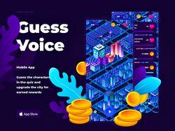 Угадай по голосу / ios app