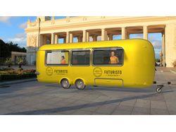 Food Truck. Визуализация.