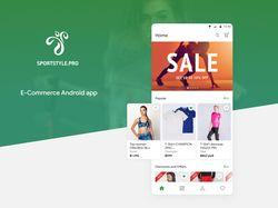 Sportstyle Android приложение