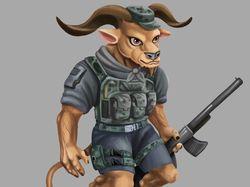 Character Minotaur