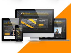 Дизайн сайта компании по производству кранов