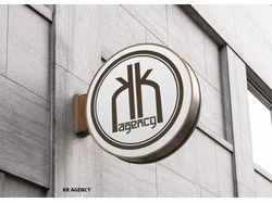 Логотип для компании KK Agency