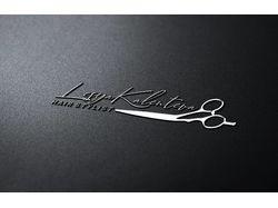 Персональный лого для парикмахера